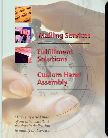 HandsPlus, your source for Mailing Services, Fulfillment Services and Custom Hand Assembly